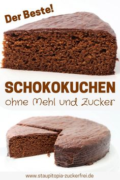 Schokokuchen ohne Zucker und Mehl – Staupitopia Zuckerfrei Would you like to bake a chocolate cake without sugar and flour that tastes like a sin but is not? Then try this low carb chocolate cake recipe with coconut flour, ground… Continue Reading → Easy Cake Recipes, Baking Recipes, Cookie Recipes, Dessert Recipes, Banana Cookie Recipe, Brownie Recipes, Dessert Bars, Delicious Desserts, Snack Recipes