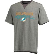 Miami Dolphins Pro Line Hector T-Shirt - Gray - $22.39