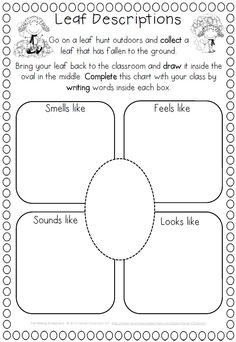 Fall Writing Worksheets {about Fall, Word Work and Reading Response}$ http://www.teacherspayteachers.com/Product/Fall-Writing-Worksheets-about-Fall-Word-Work-and-Reading-Response-862502