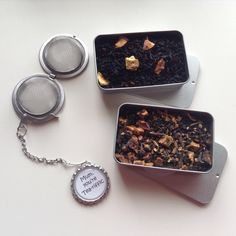 The perfect Mothers Day gift for tea loving mums, complete with gift box. Personalised, custom options available. Go on, spoil her! Tea Riffic, Perfect Mother's Day Gift, Tea Infuser, How To Dry Basil, Mother Day Gifts, Herbs, Unique Jewelry, Handmade Gifts, Mothers