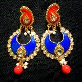valentine-s-special-blue-orange-trendy-stylish-kundan-earrings-lme01bo