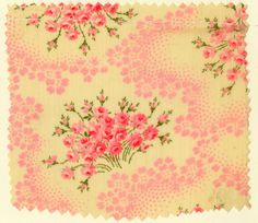 Happy Valentine's Day to all of our followers!  Floral print from 1906.