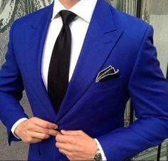 L & K Bespoke Tailor Hong Kong Bespoke Tailor, special Hong Kong Tailors. Blue Blazer Outfit, Blue Blazer Men, Royal Blue Blazers, Blazer Outfits, Tailor Made Shirts, Custom Tailored Shirts, Bespoke Shirts, Elegant Man, Bespoke Tailoring