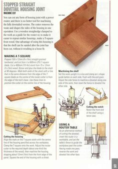 Good Wood Joints
