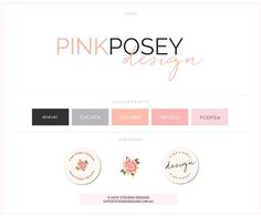 Pink Posey Design