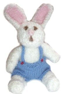 Here is a pattern with variations for dress for an Easter bunny.