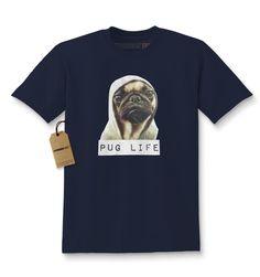Pug Life Funny Thug Life Kids T-shirt