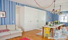 Amazing colors! BAIRRO LUZ apartment, Lisbon, Portugal.