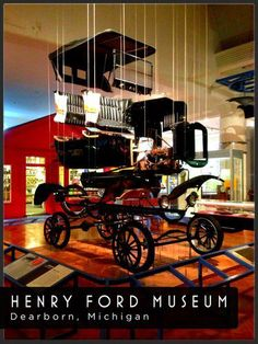 Henry Ford Museum display - Exploded Model T