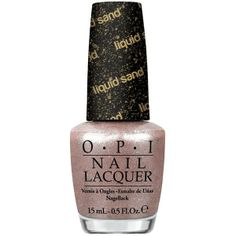 OPI Nails Mariah Carey Holiday Collection Liquid Sand, 15ml , Silent... found on Polyvore