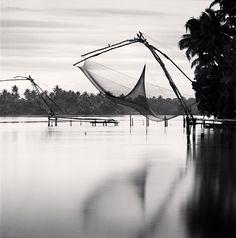 1stdibs   Michael Kenna - Fishing Net, Backwaters, Kerala, India