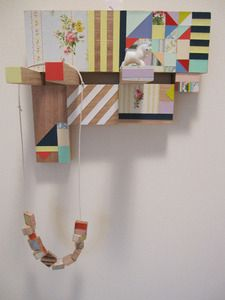 Recycled Timber Jewellery Hanger