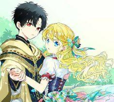 Lucas x Athanasia Anime Couples Manga, Cute Anime Couples, Manga Anime, Beautiful Anime Girl, Anime Love, Anime Black Hair, Neko, Romantic Manga, Manga Story