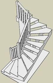 Myndaniðurstaða fyrir narrow angle attic stairs plans