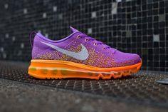 "Women's Sneakers :    Nike WMNS Air Max Flyknit ""Atomic Purple & Total Orange""  - #Sneakers https://talkfashion.net/shoes/sneakers/womens-sneakers-nike-wmns-air-max-flyknit-atomic-purple-total-orange/"