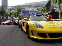 Supercar traffic in Monaco! Who would have thought it woull have made the list...'10 Of The World's Worst Cities for Driving' Click the image to see if you've been to any...