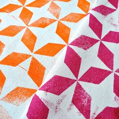 I love block printing. Its such a great way to print original designs on to fabric. There are lots of different ways to block print too, in...