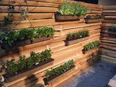 Vertical garden at SF Garden Show
