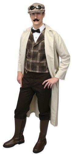 men's steampunk fashion