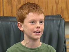 """""""One day that's going to make a difference. It might not be a really big difference but at least it's something""""  Police ID mystery boy who donated savings of $10.03 - TODAY.com"""