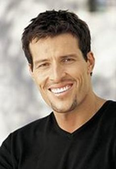 Tony Robbins ~ Didn't know too much about him until I watched him w/Oprah! What a great MAN he is !!!!