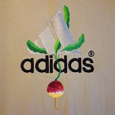 Embroidery artist, James Merry, has added nature to famous logos, creating a sweet, whimsical take on normally-energetic sportswear branding.