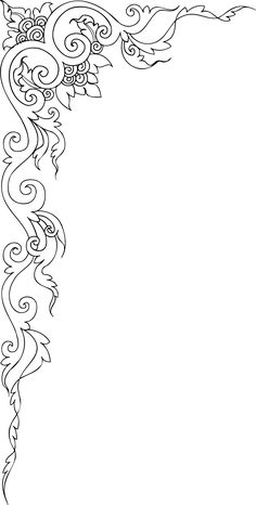 "Photo from album ""Декоративные элементы."" on Yandex. Stencil Patterns, Stencil Art, Stencil Designs, Mosaic Patterns, Pattern Art, Stencils, Page Borders Design, Border Design, Islamic Art Pattern"