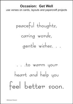 dinglefoots scrapbooking feel better soon words for wishes sticker 075 http