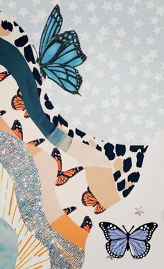 Iphone Wallpaper Landscape, Butterfly Wallpaper Iphone, Iphone Wallpaper Vsco, Phone Wallpaper Images, Iphone Wallpaper Tumblr Aesthetic, Cute Patterns Wallpaper, Watercolor Wallpaper, Iphone Background Wallpaper, Aesthetic Pastel Wallpaper
