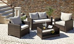Rattan | Garden Furniture |Spring and Summer Style | ASDA Direct