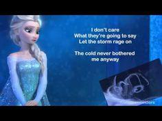 """Sing loud, sing proud, ladies: Karaoke """"Let it Go"""" Frozen - YouTube"""