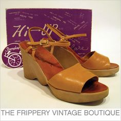 Had several pair of these Famolare shoes as a kid!