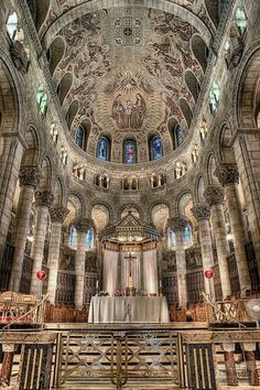 The Basilica of Sainte-Anne-de-Beaupre- Quebec, Canada
