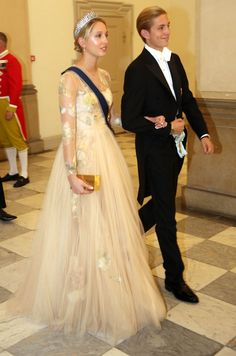 Princess Maria-Olympia and Prince Constantinos Alexios of Greece during the gala banquet on the occasion of The Crown Prince's birthday at Christiansborg Palace Chapel on May 2018 in Copenhagen, Denmark. Royal Brides, Royal Weddings, Olympia Greece, Marie Chantal Of Greece, Greek Royalty, Greek Royal Family, Super Rich Kids, Greece Fashion, Princesa Real