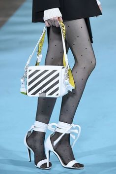 """""""Off-white"""" The best designer shoes and shoe trends from the Spring/Summer 2017 fashion collections so far"""