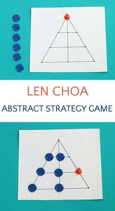 Len Choa: Leopards and Tiger Game from Thailand Len Choa is an abstract strategy game for kids. Players are Leopards and Tiger. Logic Games, Math Games, Fun Games, Games For Kids, Activities For Kids, Dice Games, Elderly Activities, Dementia Activities, Therapy Activities
