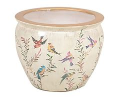 Macetero en porcelana Elegance - 42x33 cm