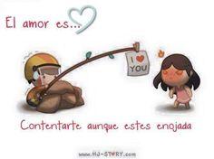 El amor es                                                                                                                                                     Más