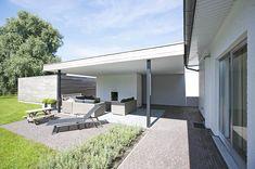 Nieuwbouw - Zomerpaviljoen | Lene Van Look | Interieur architectuur | Antwerpen
