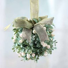 Bring peace, strength, health, fertility, and love to your blossoming marriage by sharing your first few kisses underneath the mistletoe. Your guests will like it, too—don't forget your Chapstick! ($9.99; factorydirectcraft.com) | Baby, It's Cold Outside: 10 Reception Decor Ideas to Warm Your Heart