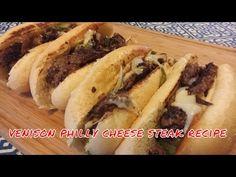 Venison Philly Cheese Steak Recipe [VIDEO]