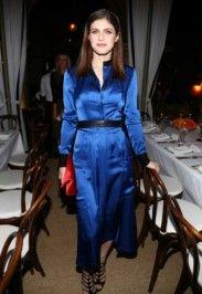 Alexandra Daddario - Diane Von Furstenberg Dinner Party on Nov 10