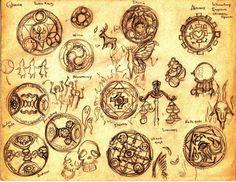 Les runes sont des caractères d'alphabet utilisés comme support de divination. Dans les temps passés, ils constituaient des lettres primitives de...