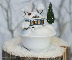 Handmade Home Decor Felt Christmas, Christmas And New Year, Christmas Ornaments, Handmade Home Decor, Diy Home Decor, Deco Table Noel, Needle Felting Tutorials, Christmas Decorations, Holiday Decor