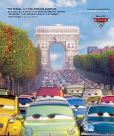 cars 2 Oscar Ads