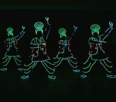 Hire our LED Bhangra dancers for gala dinners in the UK.
