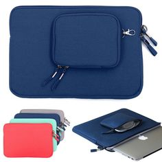 Notebook laptop Sleeve Case Carry Bag Pouch Cover For 12 Inch Tablet