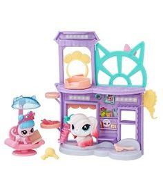 Playset----20-cm---Littlest-Pet-Shop-com-2-Pets---Salao-de-Beleza---Hasbro