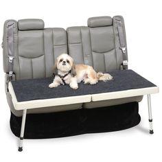 The Backseat Safety Dog Deck - Hammacher Schlemmer