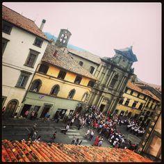 The parade before the Palio, Castel del Piano. #maremma #tuscany #events #eventi